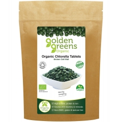 Golden Greens Organic: Chlorella Tablets