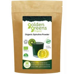 Golden Greens Organic: Spirulina Powder