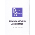 Individual Vitamins and Minerals - Tracy S Gates D.O., DIBAK