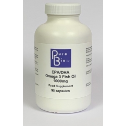EPA/DHA Omega 3 Fish Oil 1000mg