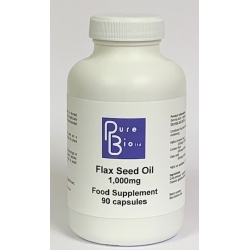 Flax Seed Oil 1,000mg Capsules