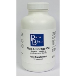 Flax & Borage Oil - (organic)