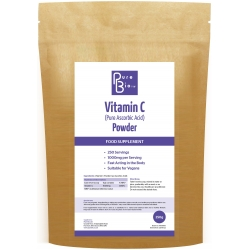 Pure Ascorbic Acid (Vitamin C) Powder