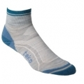 Socks - TEKO Merino Womens MINICREW - 3322 Grey Stripe