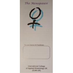 The Menopause (50 leaflets)